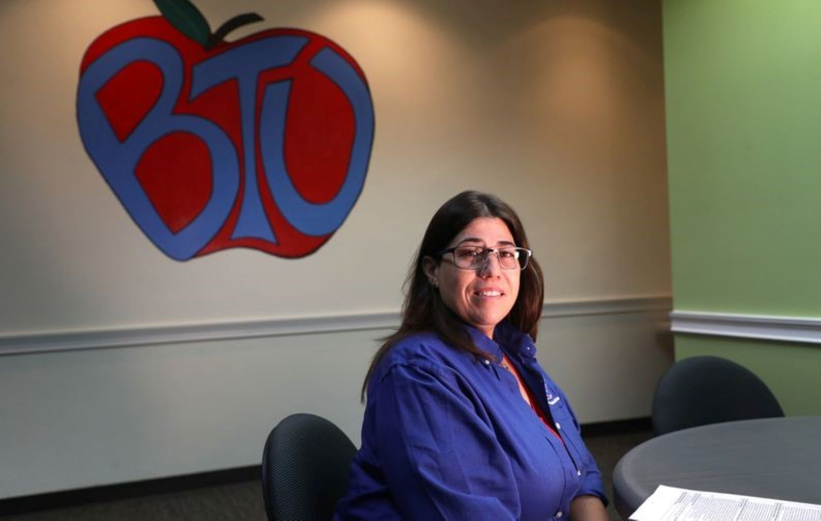 Ana Fusco, Broward Teachers Union President