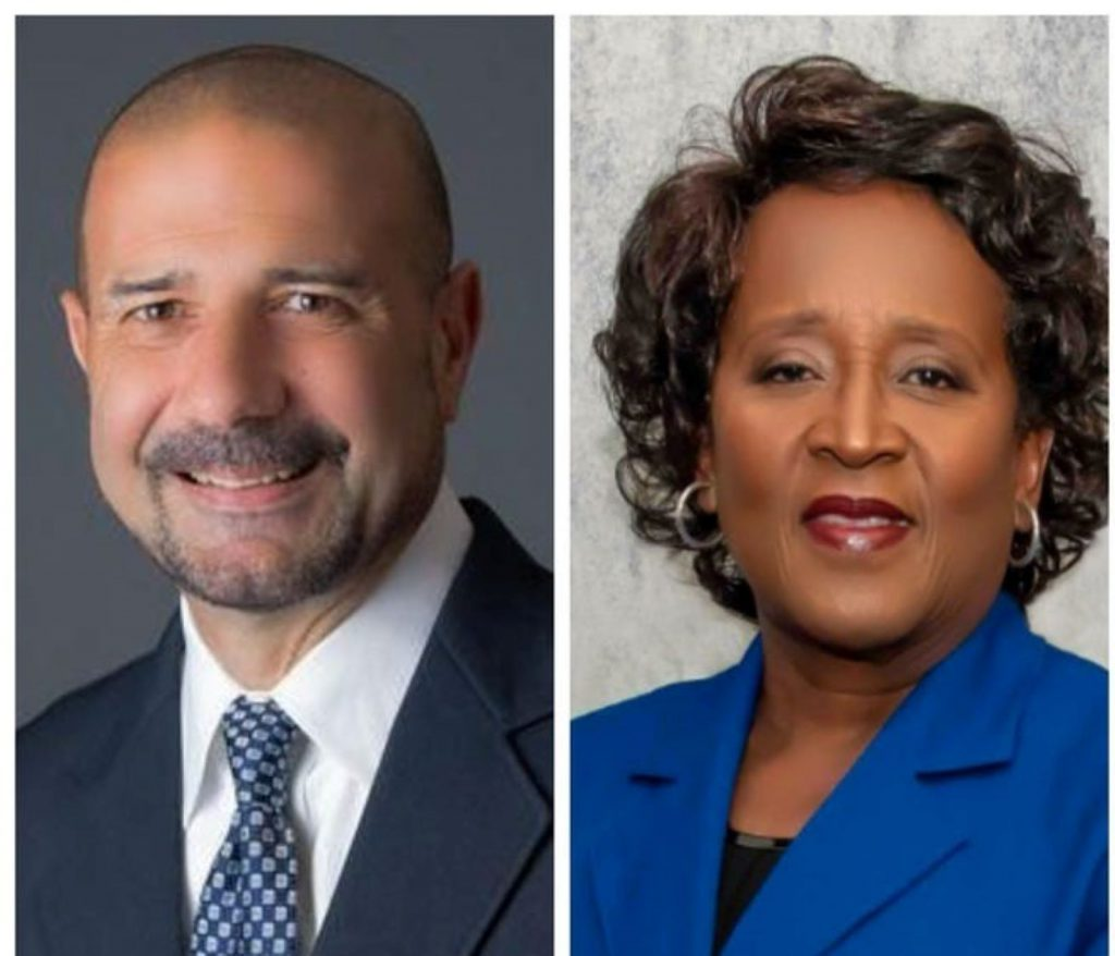 Superintendent candidates Rocky Hanna and Hightower