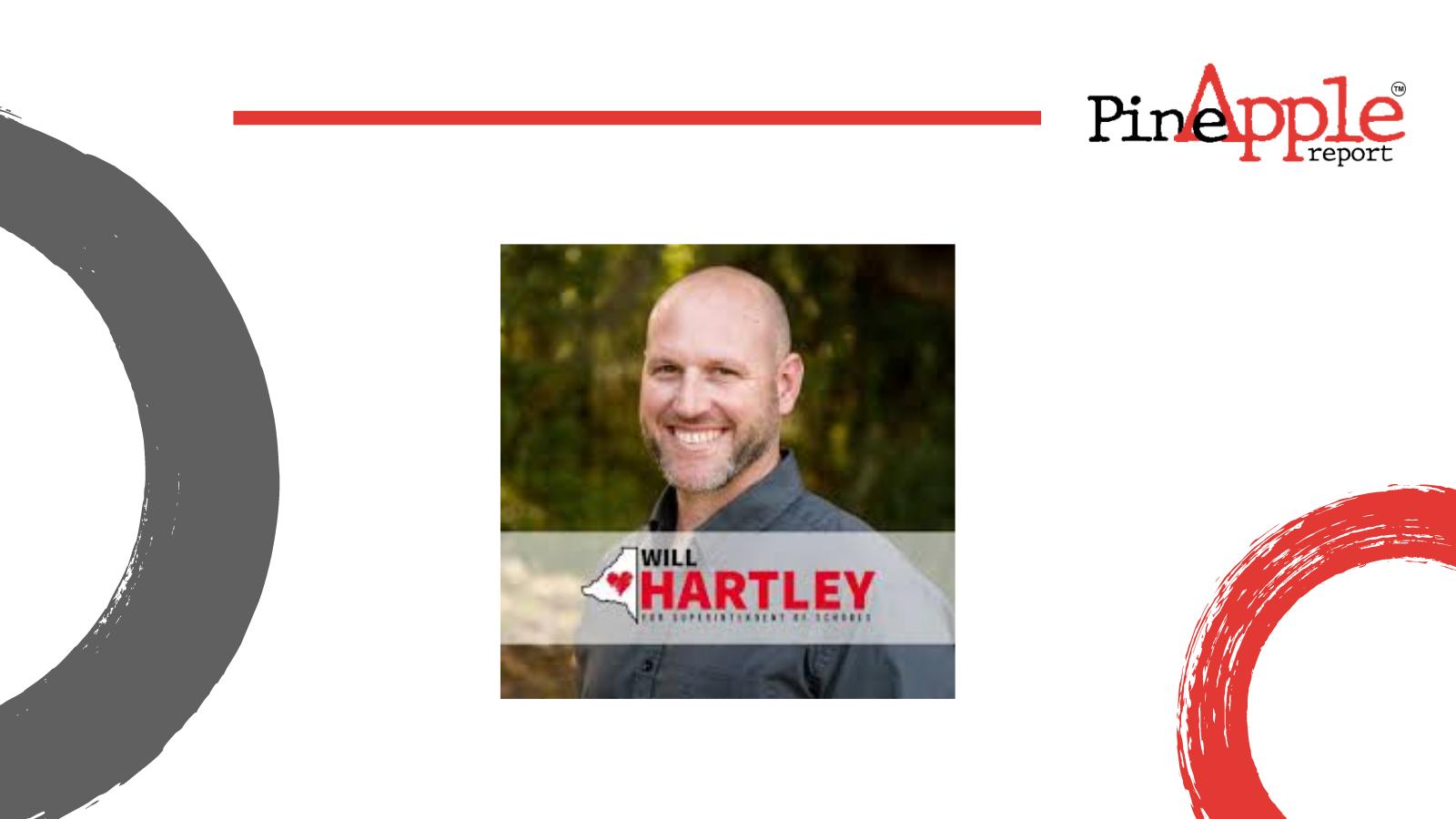 Badford County Schools New Superintendent Will Hartley