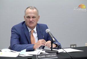 Florida Education Commissioner, Richard Corcoran