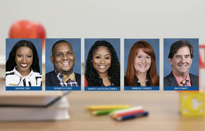 Duval Teacher of the Year Finalists