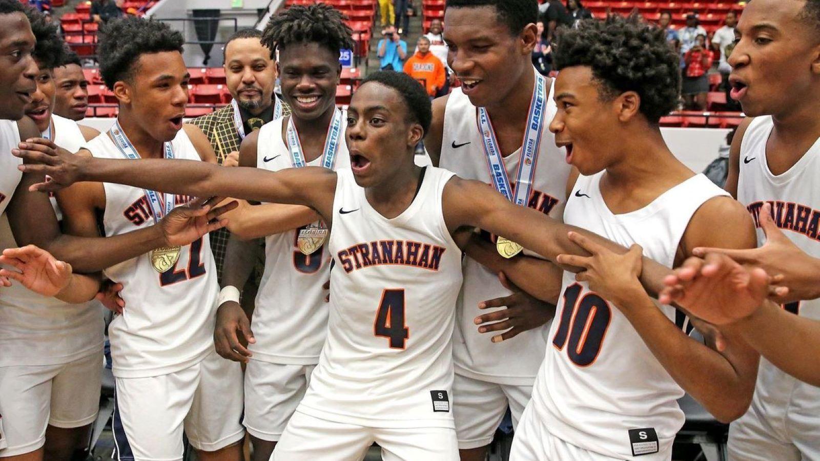 Stranaham basketball team