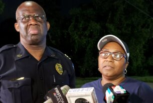 Duval Schools Police Chief Michael Edwards and Supt. Diana Green