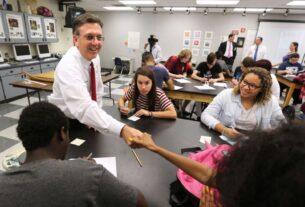 Seminole Schools Superintendent Walt Griffin