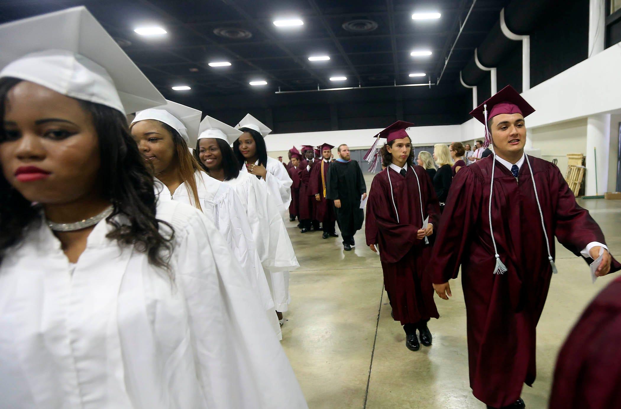 Lake Worth High school graduation