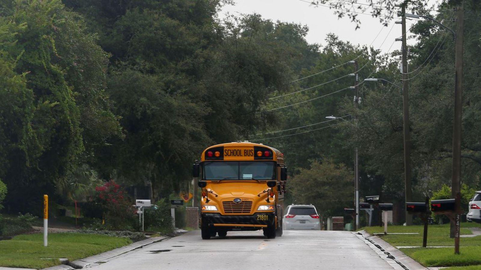 Pinellas school bus